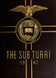 Boston College - Sub Turri Yearbook (Boston, MA) online yearbook collection, 1942 Edition, Page 1