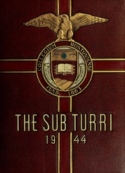 Boston College - Sub Turri Yearbook (Boston, MA) online yearbook collection, 1944 Edition, Page 1