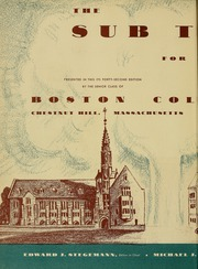 Page 6, 1954 Edition, Boston College - Sub Turri Yearbook (Boston, MA) online yearbook collection