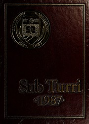 Boston College - Sub Turri Yearbook (Boston, MA) online yearbook collection, 1987 Edition, Page 1