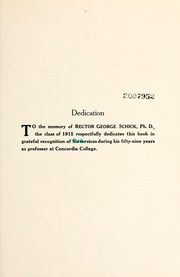 Page 15, 1915 Edition, Concordia College - Concordian Yearbook (Fort Wayne, IN) online yearbook collection