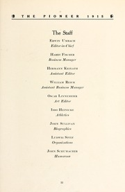 Page 21, 1915 Edition, Concordia College - Concordian Yearbook (Fort Wayne, IN) online yearbook collection