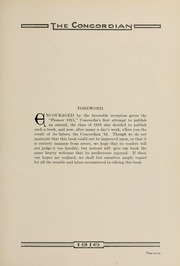 Page 17, 1916 Edition, Concordia College - Concordian Yearbook (Fort Wayne, IN) online yearbook collection