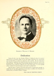 Page 11, 1930 Edition, Concordia College - Concordian Yearbook (Fort Wayne, IN) online yearbook collection