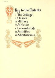 Page 12, 1930 Edition, Concordia College - Concordian Yearbook (Fort Wayne, IN) online yearbook collection