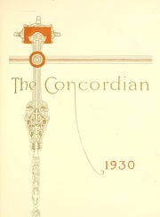 Page 7, 1930 Edition, Concordia College - Concordian Yearbook (Fort Wayne, IN) online yearbook collection