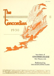 Page 9, 1930 Edition, Concordia College - Concordian Yearbook (Fort Wayne, IN) online yearbook collection
