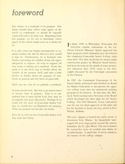 Page 10, 1959 Edition, Concordia College - Concordian Yearbook (Fort Wayne, IN) online yearbook collection