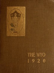 1919 Edition, University of Wyoming - WYO Yearbook (Laramie, WY)