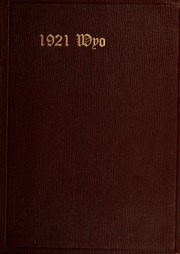 1920 Edition, University of Wyoming - WYO Yearbook (Laramie, WY)