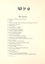 Page 12, 1920 Edition, University of Wyoming - WYO Yearbook (Laramie, WY) online yearbook collection