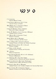 Page 15, 1920 Edition, University of Wyoming - WYO Yearbook (Laramie, WY) online yearbook collection