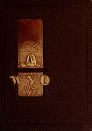 Page 1, 1925 Edition, University of Wyoming - WYO Yearbook (Laramie, WY) online yearbook collection