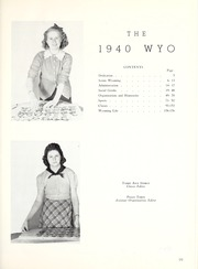Page 7, 1940 Edition, University of Wyoming - WYO Yearbook (Laramie, WY) online yearbook collection