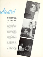 Page 11, 1941 Edition, University of Wyoming - WYO Yearbook (Laramie, WY) online yearbook collection