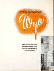 Page 6, 1941 Edition, University of Wyoming - WYO Yearbook (Laramie, WY) online yearbook collection