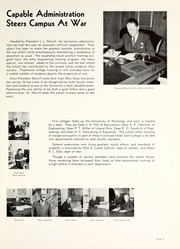 Page 9, 1943 Edition, University of Wyoming - WYO Yearbook (Laramie, WY) online yearbook collection