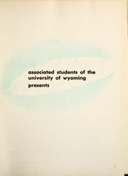 Page 5, 1950 Edition, University of Wyoming - WYO Yearbook (Laramie, WY) online yearbook collection