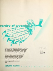 Page 7, 1950 Edition, University of Wyoming - WYO Yearbook (Laramie, WY) online yearbook collection