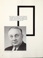 Page 16, 1954 Edition, University of Wyoming - WYO Yearbook (Laramie, WY) online yearbook collection