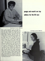 Page 65, 1968 Edition, University of Wyoming - WYO Yearbook (Laramie, WY) online yearbook collection