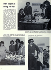 Page 68, 1968 Edition, University of Wyoming - WYO Yearbook (Laramie, WY) online yearbook collection
