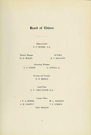 Page 15, 1915 Edition, University of Maryland School of Medicine - Terrae Mariae Medicus (Baltimore, MD) online yearbook collection