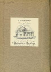 Page 2, 1915 Edition, University of Maryland School of Medicine - Terrae Mariae Medicus (Baltimore, MD) online yearbook collection