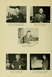 Page 12, 1949 Edition, University of Maryland School of Medicine - Terrae Mariae Medicus (Baltimore, MD) online yearbook collection