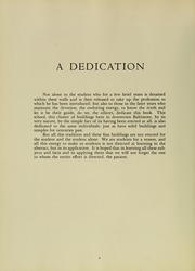 Page 10, 1951 Edition, University of Maryland School of Medicine - Terrae Mariae Medicus (Baltimore, MD) online yearbook collection