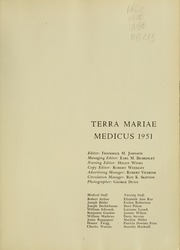 Page 5, 1951 Edition, University of Maryland School of Medicine - Terrae Mariae Medicus (Baltimore, MD) online yearbook collection
