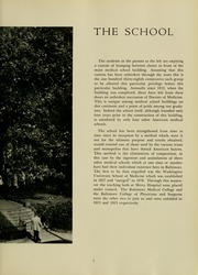 Page 9, 1951 Edition, University of Maryland School of Medicine - Terrae Mariae Medicus (Baltimore, MD) online yearbook collection