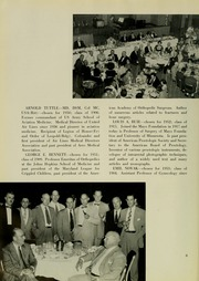 Page 10, 1953 Edition, University of Maryland School of Medicine - Terrae Mariae Medicus (Baltimore, MD) online yearbook collection