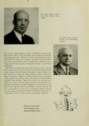 Page 11, 1953 Edition, University of Maryland School of Medicine - Terrae Mariae Medicus (Baltimore, MD) online yearbook collection