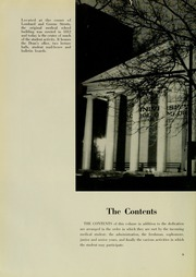 Page 12, 1953 Edition, University of Maryland School of Medicine - Terrae Mariae Medicus (Baltimore, MD) online yearbook collection