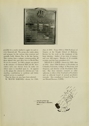 Page 9, 1953 Edition, University of Maryland School of Medicine - Terrae Mariae Medicus (Baltimore, MD) online yearbook collection