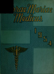 1954 Edition, University of Maryland School of Medicine - Terrae Mariae Medicus (Baltimore, MD)