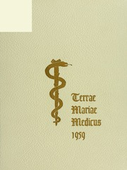 University of Maryland School of Medicine - Terrae Mariae Medicus (Baltimore, MD) online yearbook collection, 1959 Edition, Page 1
