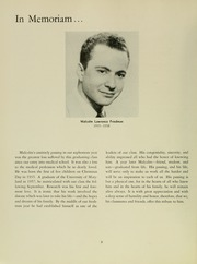 Page 12, 1961 Edition, University of Maryland School of Medicine - Terrae Mariae Medicus (Baltimore, MD) online yearbook collection