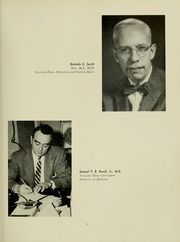 Page 17, 1961 Edition, University of Maryland School of Medicine - Terrae Mariae Medicus (Baltimore, MD) online yearbook collection