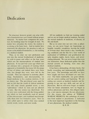 Page 10, 1962 Edition, University of Maryland School of Medicine - Terrae Mariae Medicus (Baltimore, MD) online yearbook collection