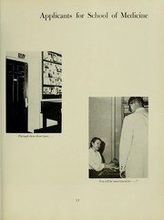Page 17, 1962 Edition, University of Maryland School of Medicine - Terrae Mariae Medicus (Baltimore, MD) online yearbook collection
