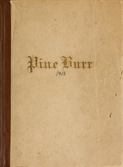 Page 1, 1913 Edition, Campbell University - Pine Burr Yearbook (Buies Creek, NC) online yearbook collection