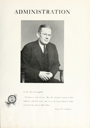 Page 11, 1946 Edition, Campbell University - Pine Burr Yearbook (Buies Creek, NC) online yearbook collection