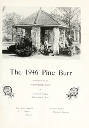 Page 7, 1946 Edition, Campbell University - Pine Burr Yearbook (Buies Creek, NC) online yearbook collection