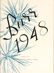 Page 7, 1948 Edition, Campbell University - Pine Burr Yearbook (Buies Creek, NC) online yearbook collection