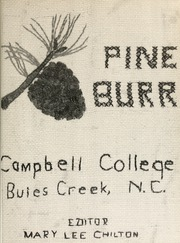 Page 5, 1959 Edition, Campbell University - Pine Burr Yearbook (Buies Creek, NC) online yearbook collection