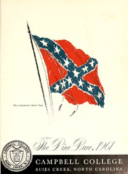Page 5, 1961 Edition, Campbell University - Pine Burr Yearbook (Buies Creek, NC) online yearbook collection