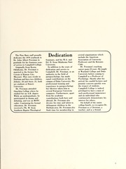 Page 13, 1979 Edition, Campbell University - Pine Burr Yearbook (Buies Creek, NC) online yearbook collection