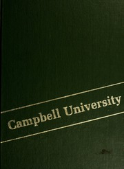 Page 1, 1983 Edition, Campbell University - Pine Burr Yearbook (Buies Creek, NC) online yearbook collection